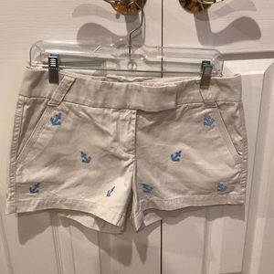 J.Crew 3in anchor chino shorts.